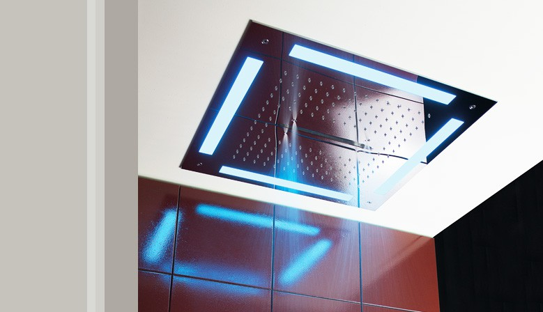 Concealed Shower Collection with LED